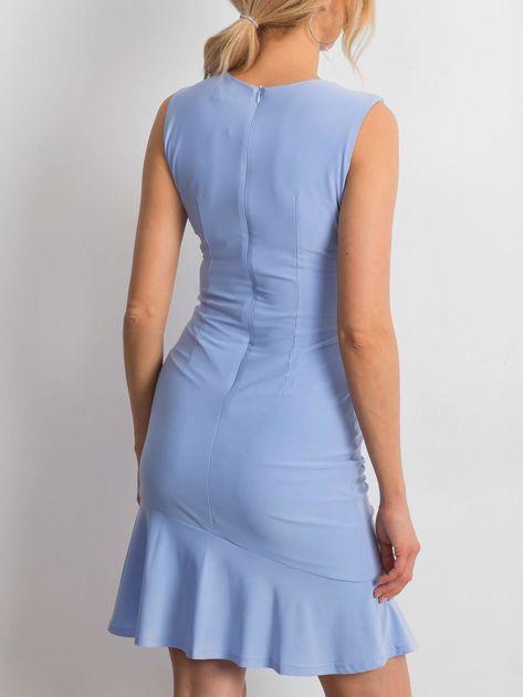 Jasnoniebieska sukienka Handle                              zdj.                              2