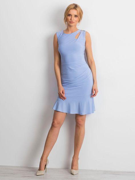 Jasnoniebieska sukienka Handle                              zdj.                              4