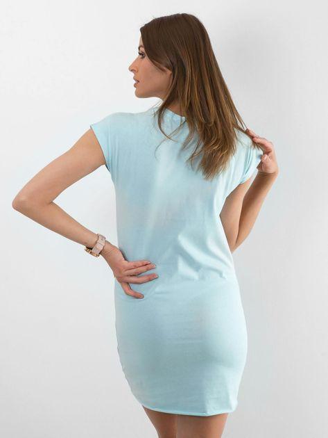 Jasnoniebieska sukienka Limousine                              zdj.                              2