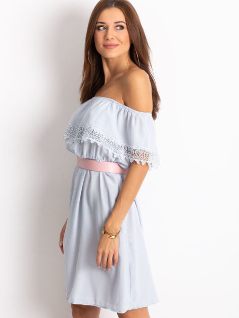 Jasnoniebieska sukienka Serenity                              zdj.                              3