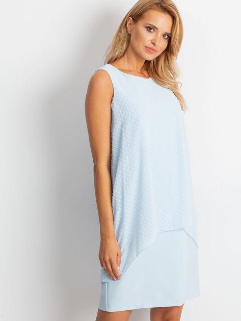 Jasnoniebieska sukienka Suve                              zdj.                              3