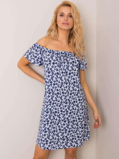 Jasnoniebieska sukienka Violetta