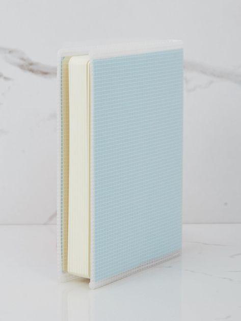 Jasnoniebieski notatnik                              zdj.                              2