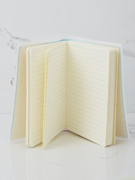 Jasnoniebieski notatnik                              zdj.                              3
