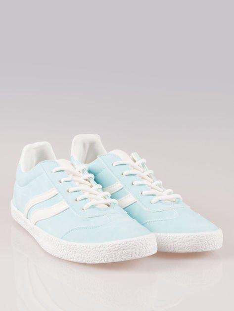 Jasnoniebieskie buty sportowe w stylu casual Kash                                  zdj.                                  2