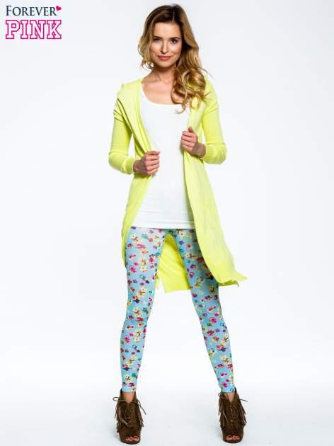 Jasnoniebieskie legginsy w kwiatki                                  zdj.                                  7