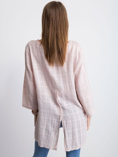 Jasnoróżowa bluzka Hollaback                              zdj.                              2