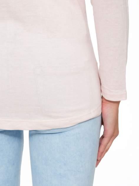 Jasnoróżowa bluzka w stylu fashion                                  zdj.                                  10