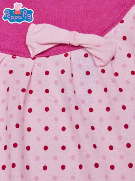 Jasnoróżowa sukienka dla dziewczynki ŚWINKA PEPPA                                  zdj.                                  3
