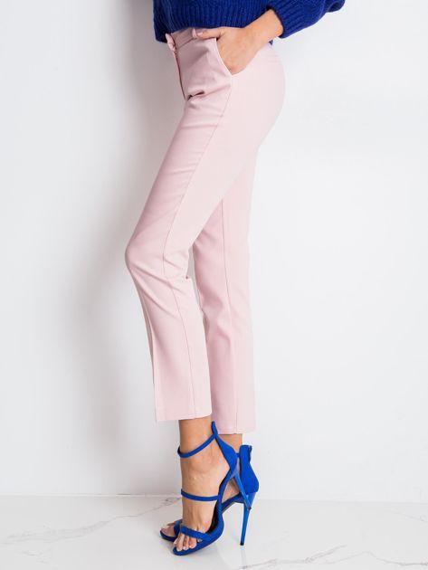 Jasnoróżowe spodnie Jessy                              zdj.                              3