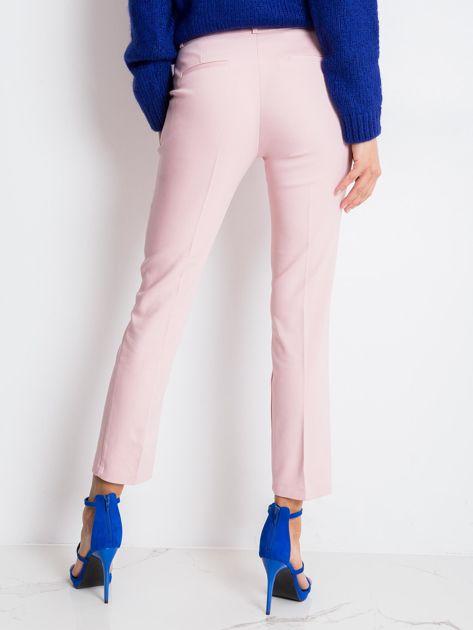 Jasnoróżowe spodnie Jessy                              zdj.                              2