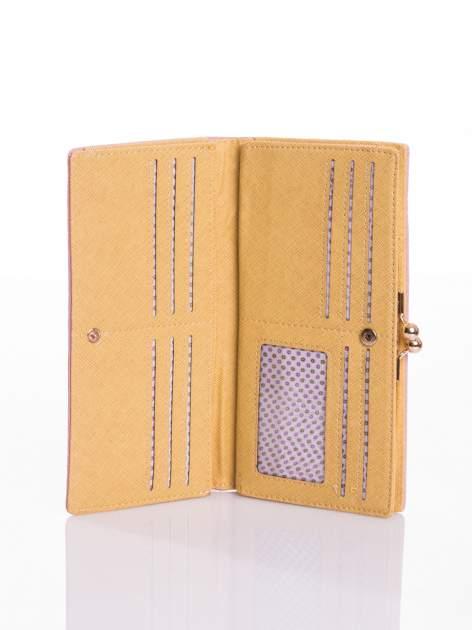 Jasnoróżowy elegancki portfel na bigiel                                  zdj.                                  3