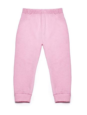 Jasnoróżowy komplet dla dziewczynki bluza i spodnie dresowe                              zdj.                              7