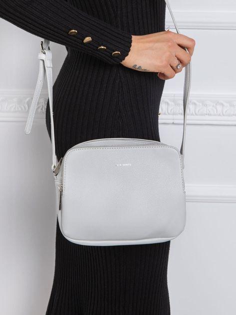 Jasnoszara mała torebka