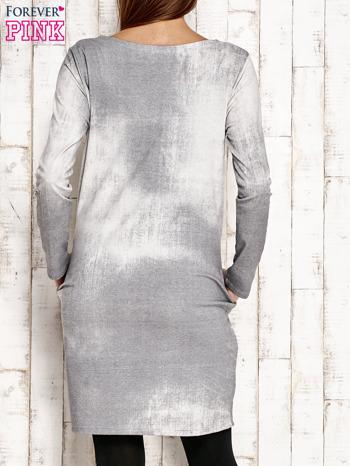 Jasnoszara sukienka z dżetami                                  zdj.                                  5
