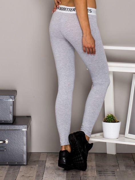 Jasnoszare legginsy BETTER BODIES                                  zdj.                                  2