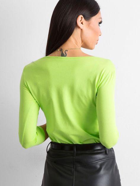 Jasnozielona bluzka Mona                              zdj.                              2
