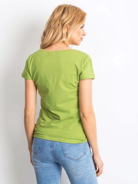 Jasnozielony t-shirt Square                              zdj.                              2