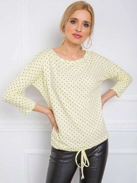 Jasnożółta bluzka Ginger RUE PARIS