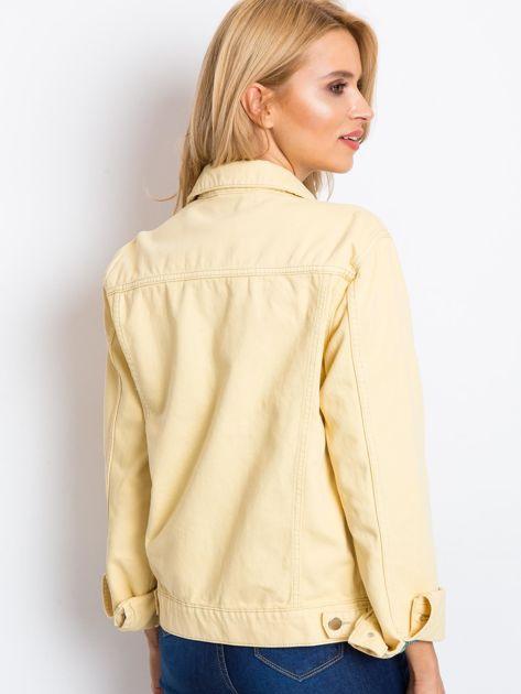 Jasnożółta kurtka Daisy                              zdj.                              2