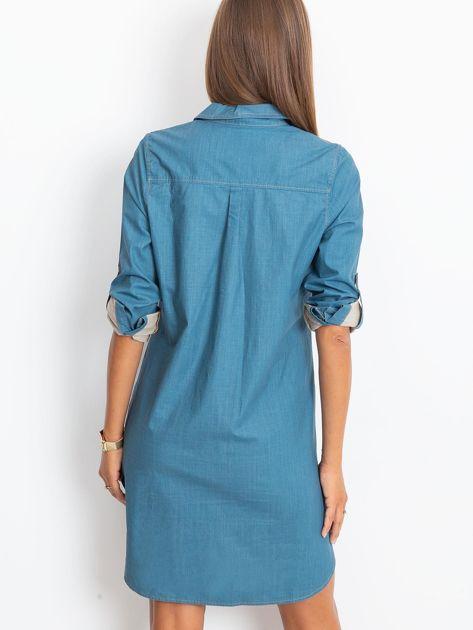 Jeansowa sukienka damska                              zdj.                              2