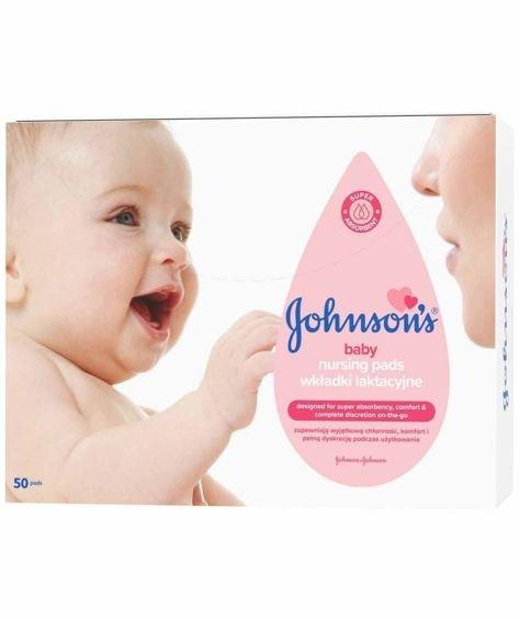 Johnson's Baby Wkładki laktacyjne 50 szt.
