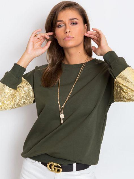 Khaki bluza Mirror                              zdj.                              5