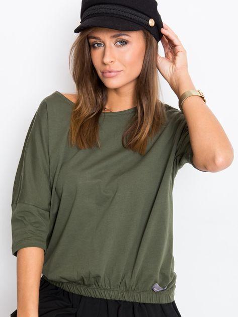 Khaki bluzka Brittany