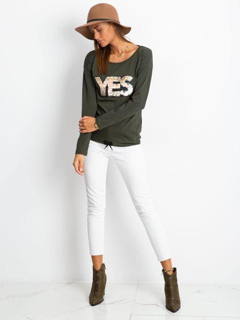 Khaki bluzka Say                              zdj.                              4