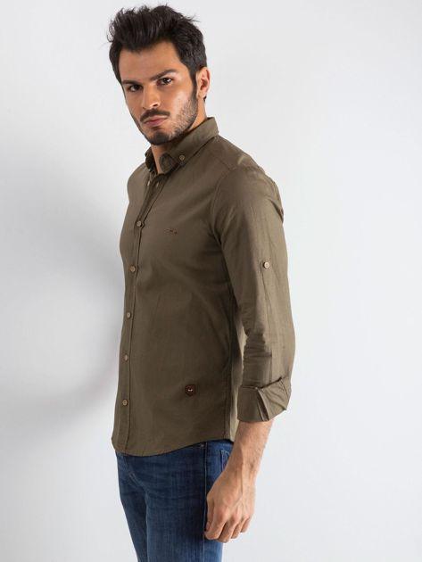 Khaki koszula męska Superior                              zdj.                              3