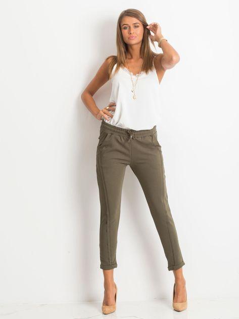 Khaki spodnie Approachable                              zdj.                              4