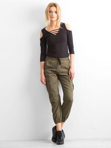 Khaki spodnie Boyhood                              zdj.                              4