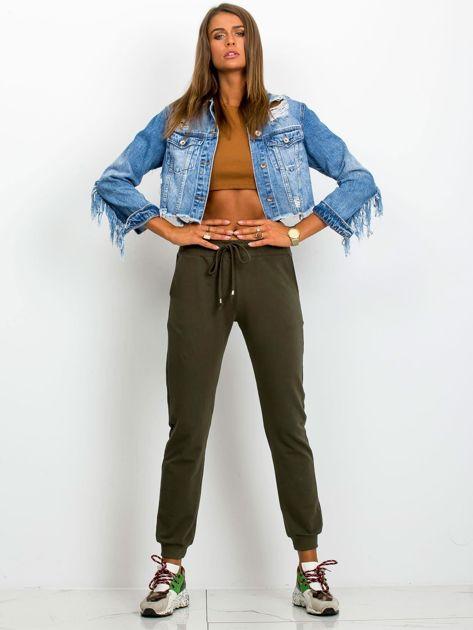 Khaki spodnie Faster                              zdj.                              4