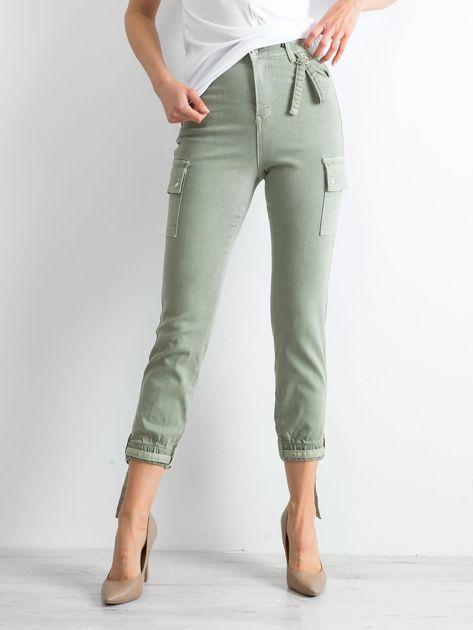 Khaki spodnie Vintage