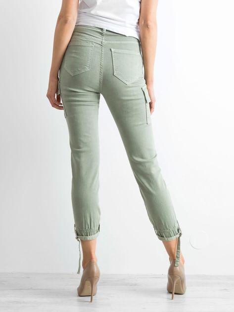 Khaki spodnie Vintage                              zdj.                              2