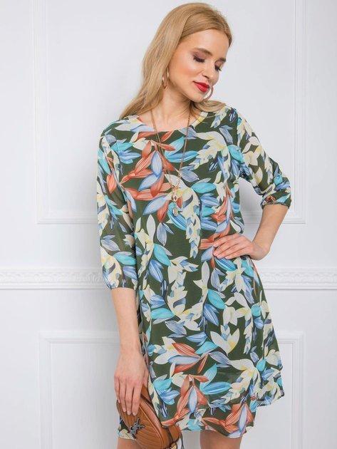 Khaki sukienka Cassie RUE PARIS