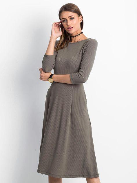Khaki sukienka Everywhere                              zdj.                              1