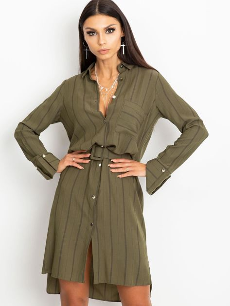 Khaki sukienka Samba                              zdj.                              1