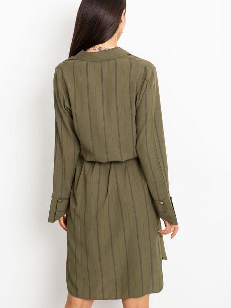 Khaki sukienka Samba                              zdj.                              2