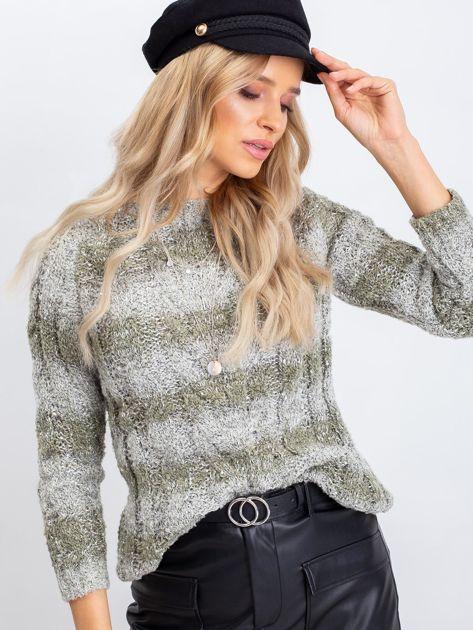 Khaki sweter Amelia                              zdj.                              5