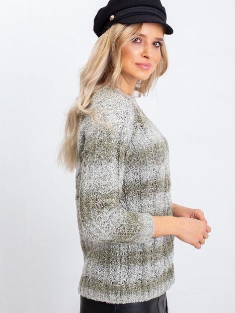 Khaki sweter Amelia                              zdj.                              3