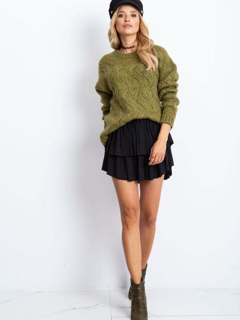 Khaki sweter Bali                              zdj.                              4