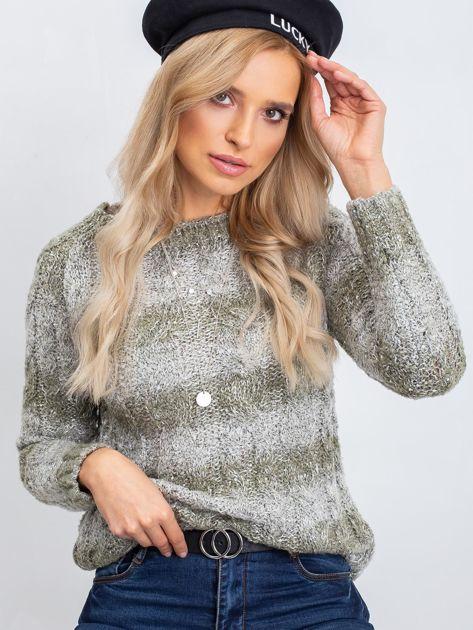 Khaki sweter Tracey                              zdj.                              1