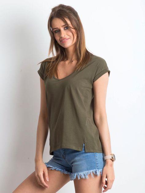 Khaki t-shirt Vibes                              zdj.                              3