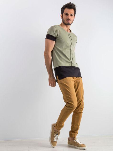 Khaki t-shirt męski Narcos                              zdj.                              4