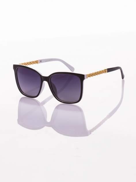Klasyczne damskie okulary przeciwsłoneczne z POLARYZACJĄ