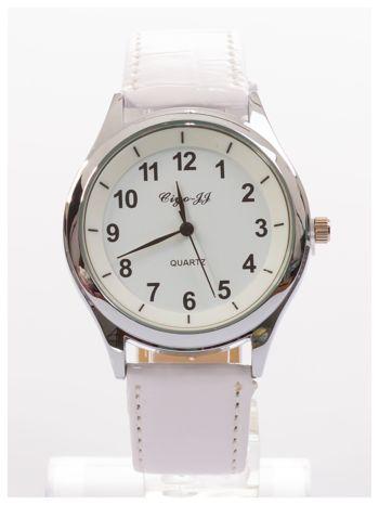 Klasyczny biały damski zegarek