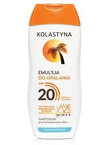 Kolastyna Opalanie Emulsja do opalania SPF 20  200 ml