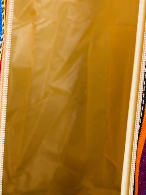Kolorowa torba plażowa w paski                                  zdj.                                  10