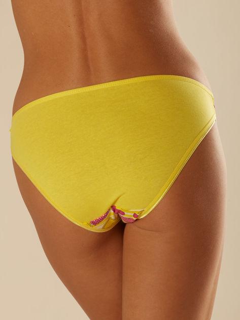 Kolorowe majtki damskie z nadrukami 5-pak                              zdj.                              9